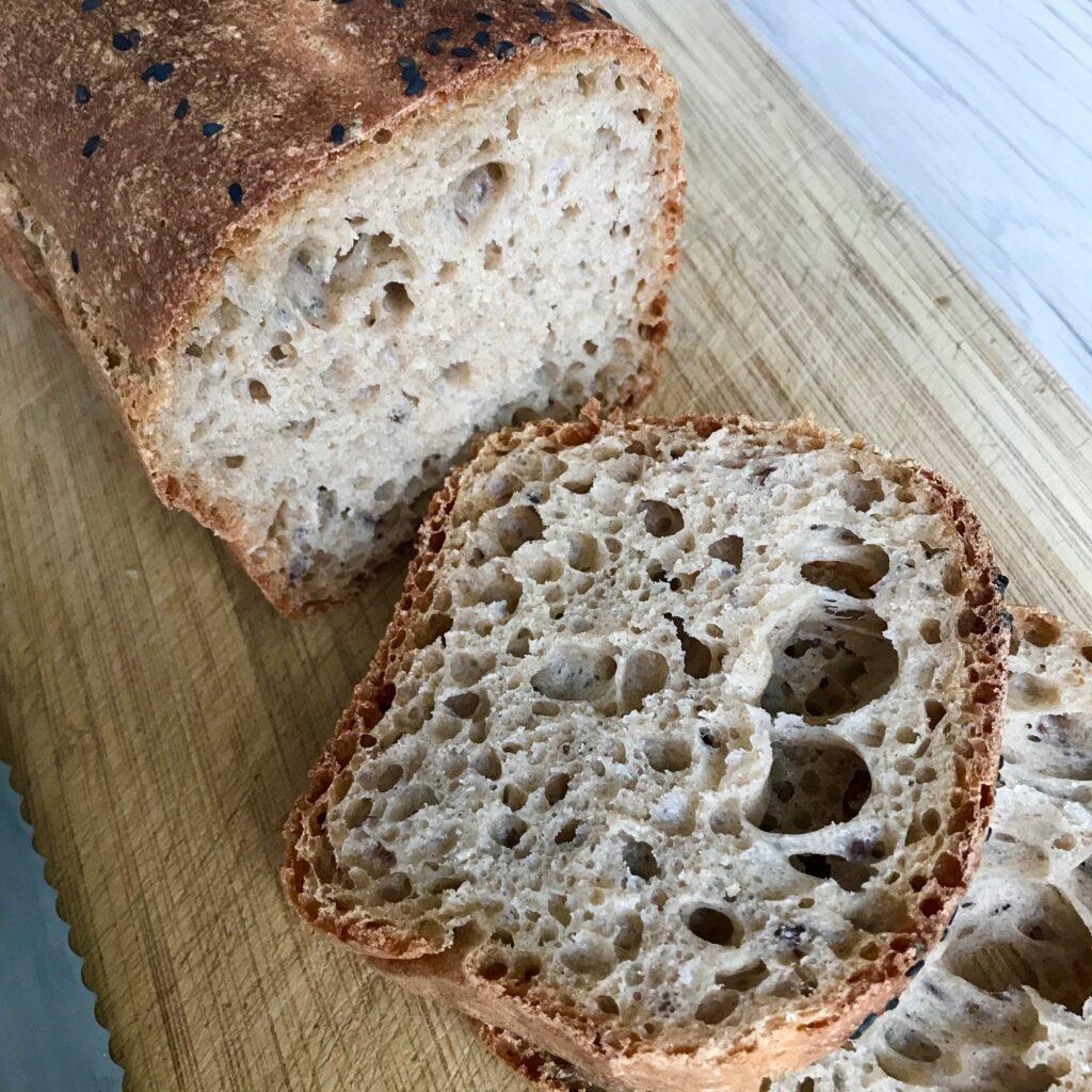Chleb orkiszowy - środek